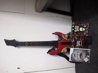 Wii GUITAR HERO METALLICA, NO BOX BUT NEVER USED, GAME IS STILL WRAPPED - £30