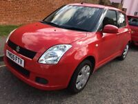 Suzuki swift lx 1.3 IMMACULATE 8mths MOT VERY ECONOMICAL GREAT FIRST CAR!! Only £1350 TOTAL BARGAIN!
