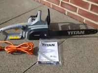 TITAN 2000w electric chainsaw *3 days old!* £39 or nearest offer