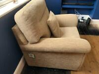 Living Room / Conservatory Chair - Oatmeal Colour