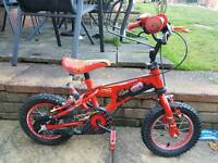 Lightning McQueen Bike