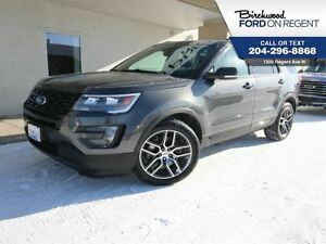 2016 Ford Explorer Sport 4WD Ecoboost *Htd Leather/Moonroof*