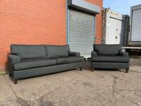 Grey DFS Sofa set delivery 🚚 sofa suite couch furniture