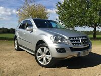 Mercedes ML 280 CDI 2009 every extra fully loaded (immaculate)