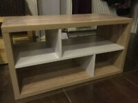 Oak Tv cabinet brand new