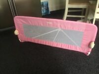 Tomy bed guard in pink