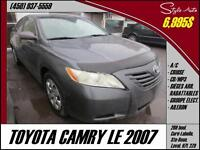 2007 Toyota Camry LE A/C CRUISE CD/MP3
