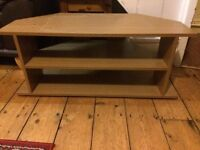 Oak Effect Fully Assembled TV Stand