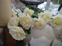 Artificial Roses x 250 white