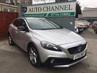 Volvo V40 Cross Country 1.6 TD D2 Lux Powershift 5dr (start/stop)£11,250 . 1 YEAR FREE WARRANTY.