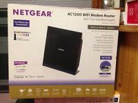 Netgear router (£90)& wifi booster