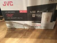 """BRAND NEW UNUSED 32"""" JVC SMART WIFI TV CAN DELIVER."""