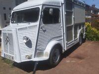 Vintage 1970's Citroen HY Food Truck