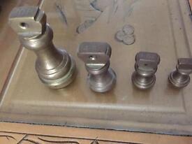 Sold brass weights