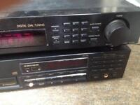 Sony tuner and pioneer cassette