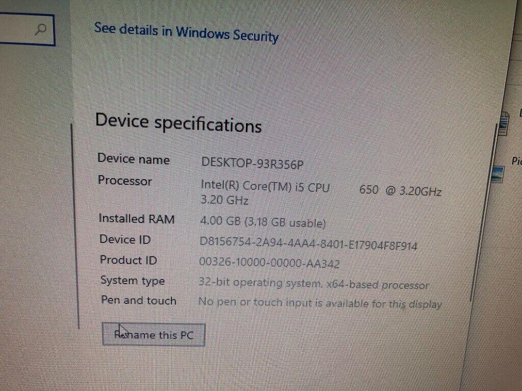 HP i5 Windows 10 pc computer 8gb ram 128gb SSD dvd burner graphics card    in Wendover, Buckinghamshire   Gumtree