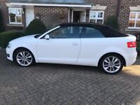 Audi A3 cabriolet 1.6 tdi 2013 lovely car,2 keys,part-exchange welcome.aa/rac welcome £30 road tax!