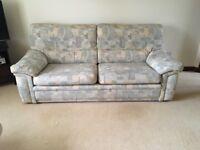 3 seat sofa, 2 seat sofa, chair, footstool