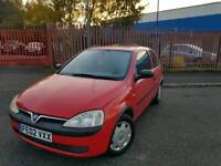 VAUXHALL CORSA 1.0ltr *** CHEAP INSURANCE -FREE DELIVERY ***