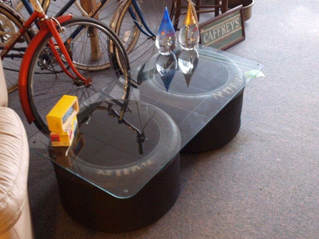 Formula One Wheels - Coffee Table