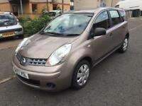 Nissan note visia 1.4 low miles 70k fsh 1 owner mot June