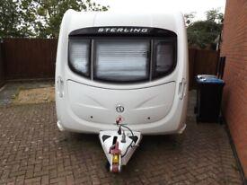 Stirling Topaz 2 birth touring caravan 2011