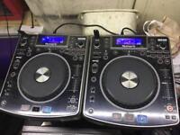 Ndx800 dj decks with USB!