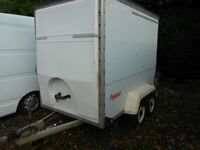 TOWAVAN TWIN AXLE BOX TRAILER