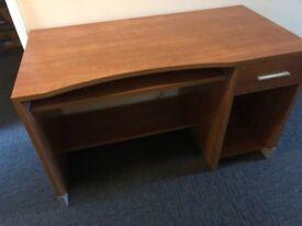 Cherry wood solid desk
