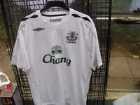 EVERTON FC TOPS £10 EACH ALL XL ALSO EVERTON FC / UMBRO TRACK SUIT BRAND NEW ALSO XL £20