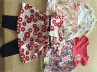 Baby girl bundle 6-9 months