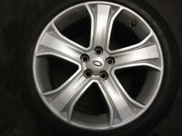 20 inch Genuine Land Rover Alloy Wheels w/ Pirreli Tyres 9H3M1007BAW OEM Range Rover Sport
