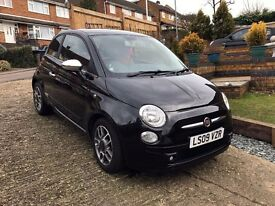 Fiat 500 1.2 Sport - LOW MILEAGE - RED LEATHER INTERIOR