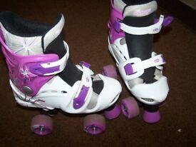 Quad skates. Shoe size: 10-13