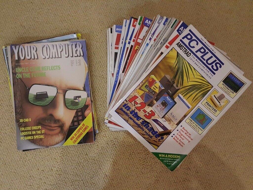 1980 vintage computer magazines