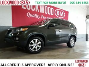 2011 Kia Sorento LX V6 AWD - HEATED SEATS, BLUETOOTH