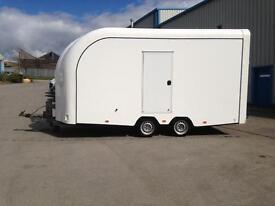 PRG PRO SPORTER box trailer twin axle