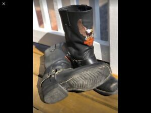 Authentic Harley Davidson leather boots