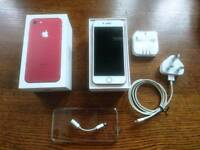 Iphone 7 limited edition red. 10 months old. Great condition