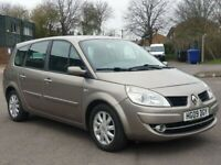 7 SEATER RENAULT GRAND SCENIC 1.6 PETROL MANUAL IN CLEAN CONDITION. 1 YEAR MOT. TAXED AND INSURED