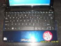 ASUS EEPC NETBOOK WITH WINDOWS 7 REDUCED TO ONLY £65.00 O.N.O.