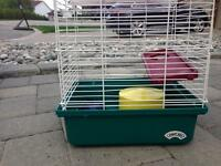 Gerbil cage and track
