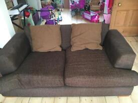 Free large brown sofa