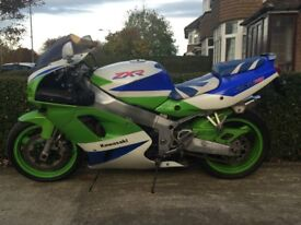 Kawasaki Zxr 750 1995, 32000 miles, HPI clear, logbook and key present, Not Gsxr, Fzr, Cbr, Yzf