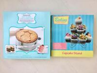 Cupcake stand and cake measurer