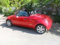 *Reduced for quick sale* Ford Streetka Luxury Winter Edition - Brand new MOT - red convertible car