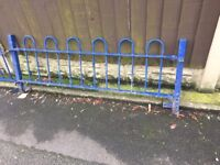 Quality Bow Tow Railings / Wall Toppers / Steel Fencing 20ft In Total- DELIVERY AVAILABLE