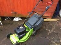 "16"" petrol lawn mower self drive"
