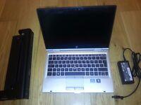 HP Elitebook 2560p, Intel Core i5 Processor, Solid State Drive 4GB RAM Win 10 Pro