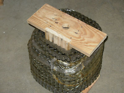 40 Roller Chain 100ft Reel With 10 Connecting Links 40-1r-100ft 12 Pitch